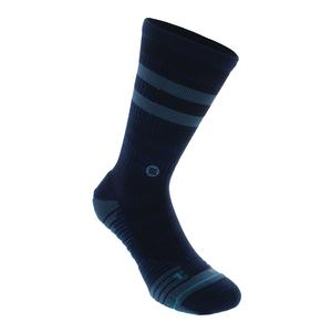 Men`s Training Uncommon Solids Crew Socks Navy