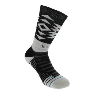 Men`s Distances Crew Socks Black