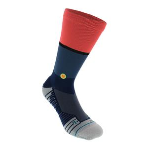 Men`s Motto Crew Socks Blue