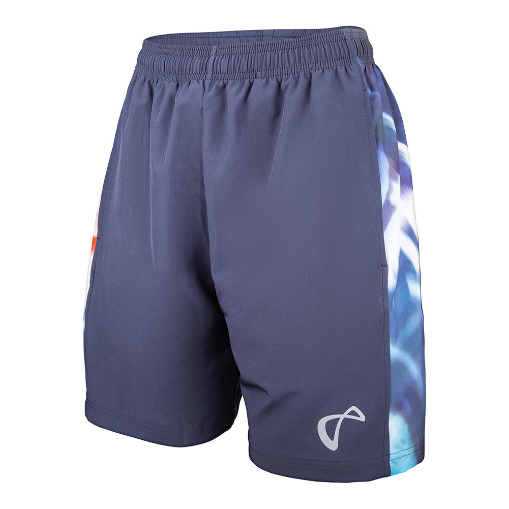 Men's Hurricane Woven Panel Tennis Short Denim