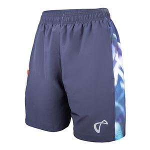 Men`s Hurricane Woven Panel Tennis Short Denim
