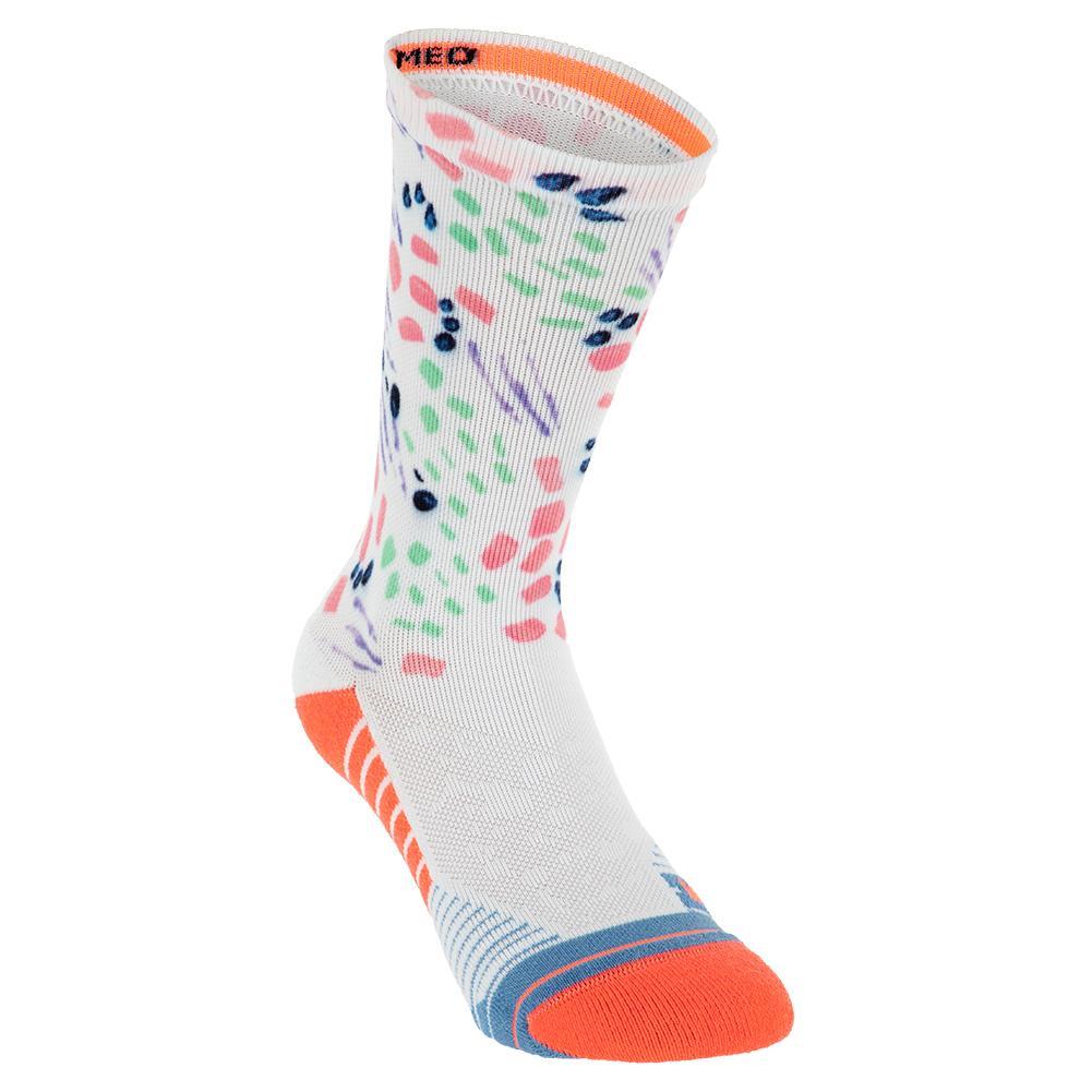 Women's Chipper Crew Socks Pink
