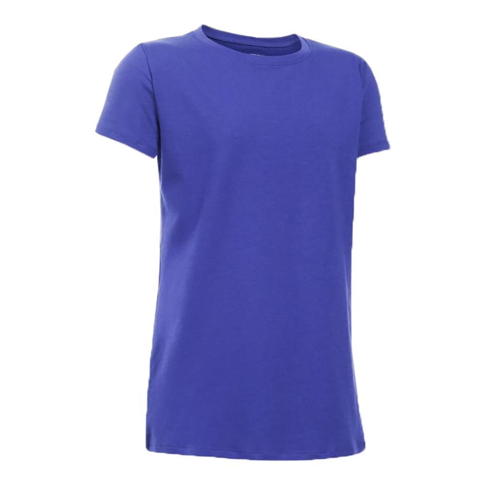 Girls ` Performance Charged Cotton T- Shirt Constellation Purple