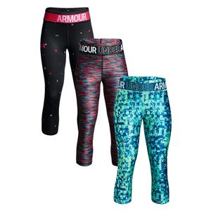 Girls` Novelty Heatgear Armour Capri