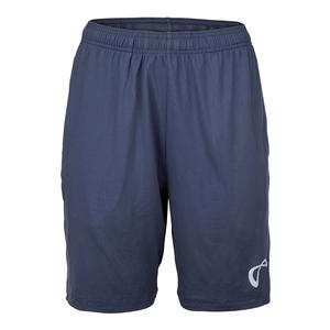 Men`s Hitting Knit Tennis Short Denim