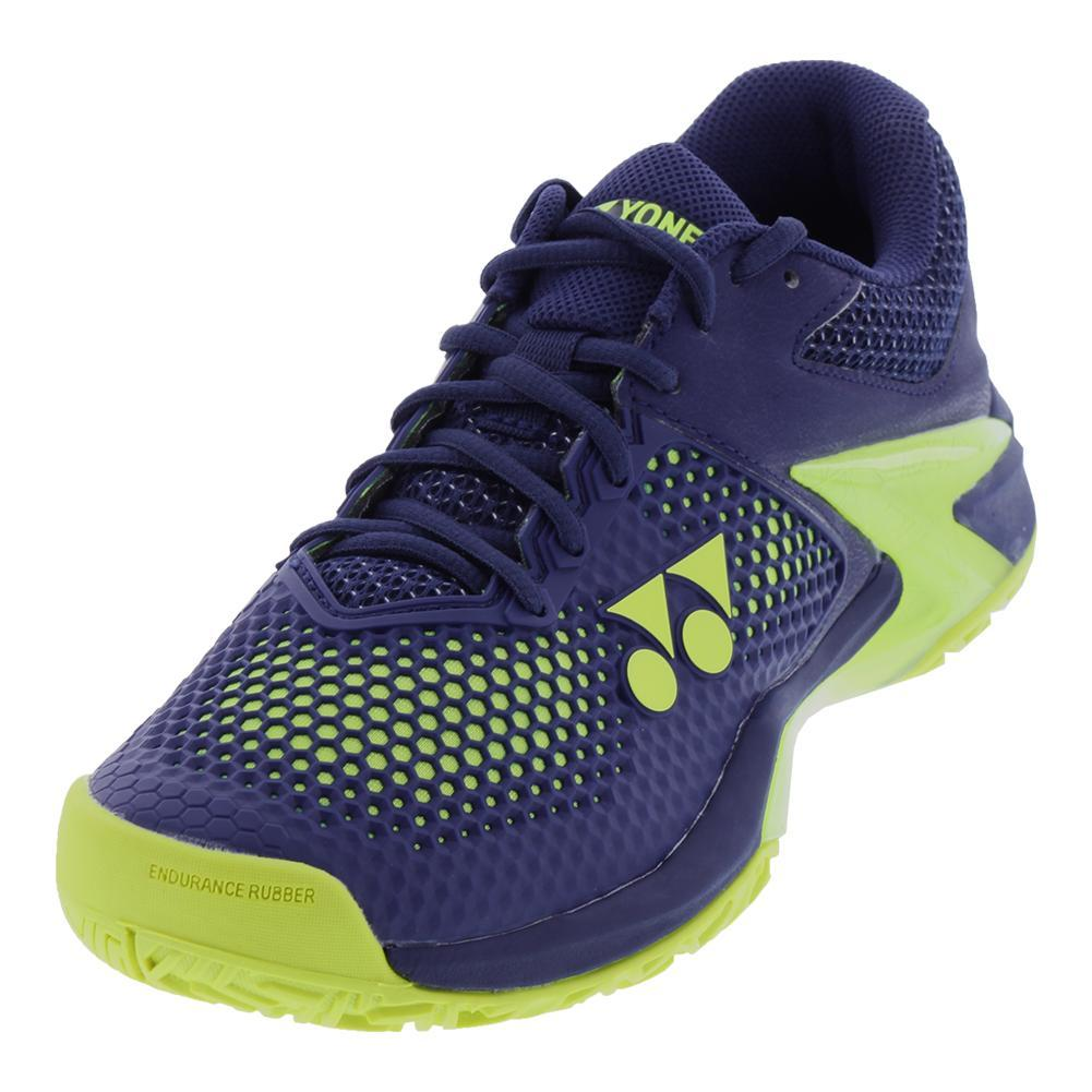 Men's Power Cushion Eclipsion 2 Tennis Shoes Navy And Yellow