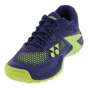 Men`s Power Cushion Eclipsion 2 Tennis Shoes Navy and Yellow