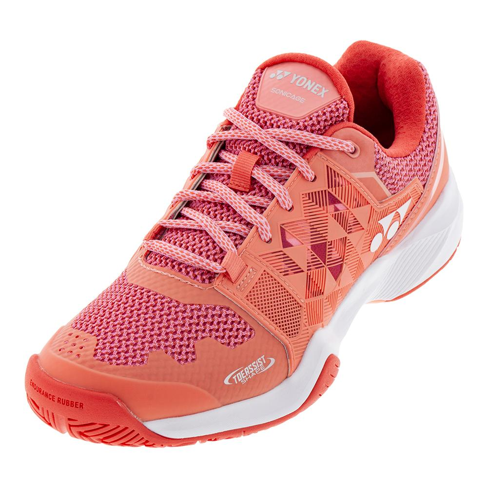 362fcfa34f55 Women s Power Cushion Sonicage Tennis Shoes Coral Pink