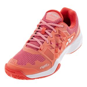 Women`s Power Cushion Sonicage Tennis Shoes Coral Pink