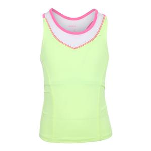 Girls` Social Set Bralette Lemon
