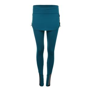 Women`s Rouched Tennis Skirt Legging Poseidon
