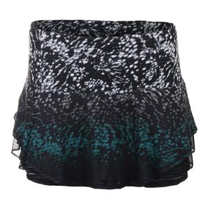 Women`s Queen Flip Tennis Skort Black