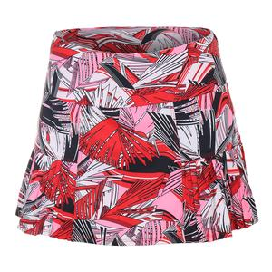 Women`s Izara Tennis Skort Majestic Palm and Chili