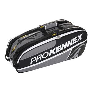 Q Gear 12 Pack Tennis Bag Gray and Black