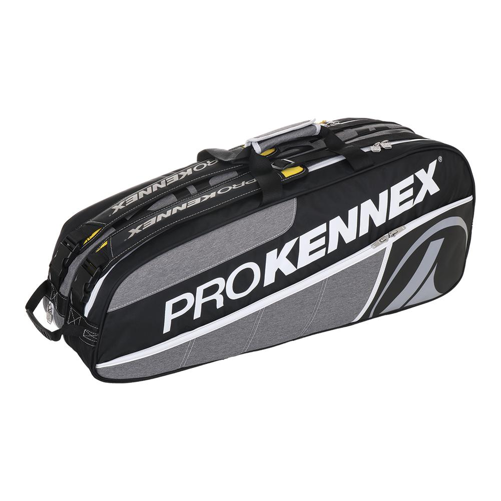 Q Gear 6 Pack Tennis Bag Gray And Black
