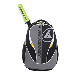 Q Gear Tennis Backpack Gray and Black