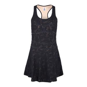 Women`s Style Setters Tennis Dress Black and Sand