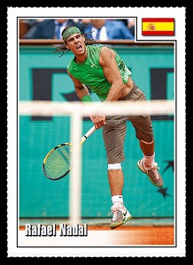 SPOTLIGHT TRIBUTE RAFAEL NADAL CARD