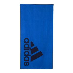 Large Tennis Towel Blue and Legend Ink