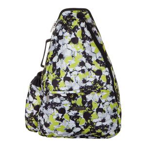 Women`s Tennis Backpack Morning Glory Print