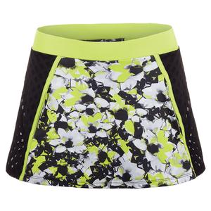 Women`s Verge 13 Inch Tennis Skort Morning Glory Print