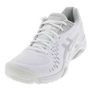 Women`s Gel-Challenger 12 Tennis Shoes White and Silver