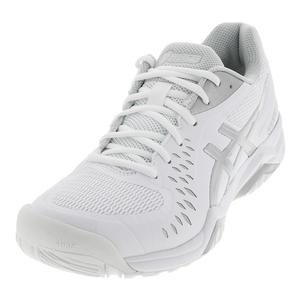 Men`s Gel-Challenger 12 Tennis Shoes White and Silver