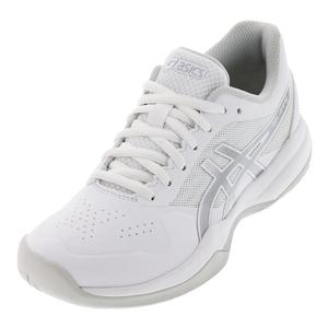 Women`s Gel-Game 7 Tennis Shoes White and Silver