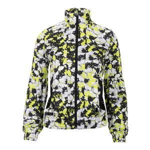 Women`s Unbound Tennis Jacket Morning Glory Print