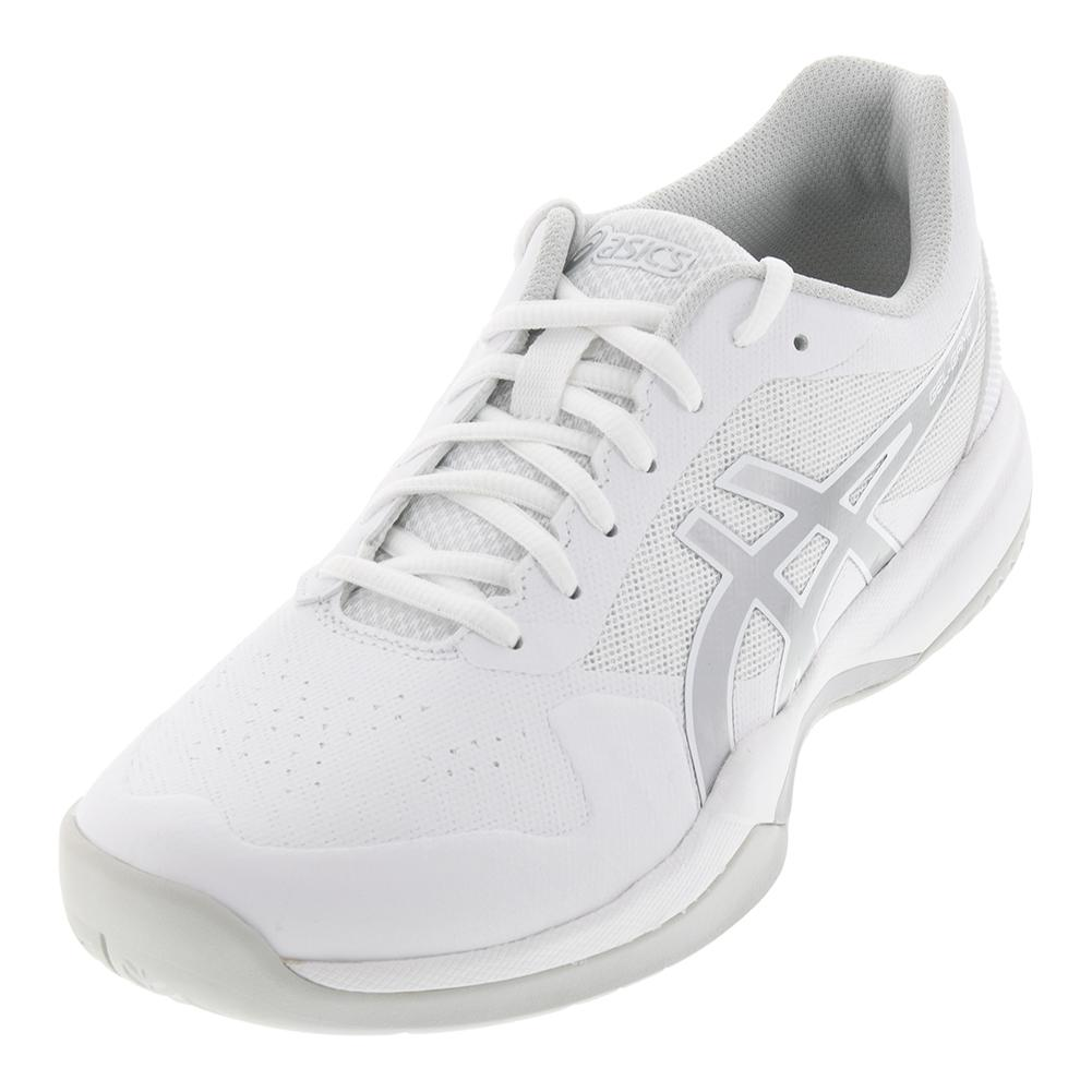 Men's Gel- Game 7 Tennis Shoes White And Silver