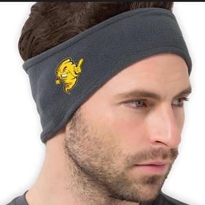 Tuffy Embroidered Stretch Fleece Headband Midnight Heather