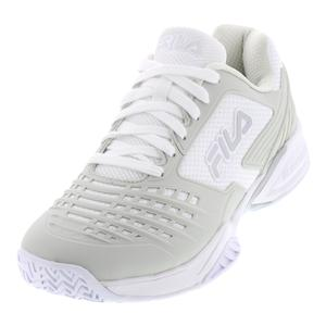 Men`s Axilus 2 Energized Tennis Shoes White and Silver