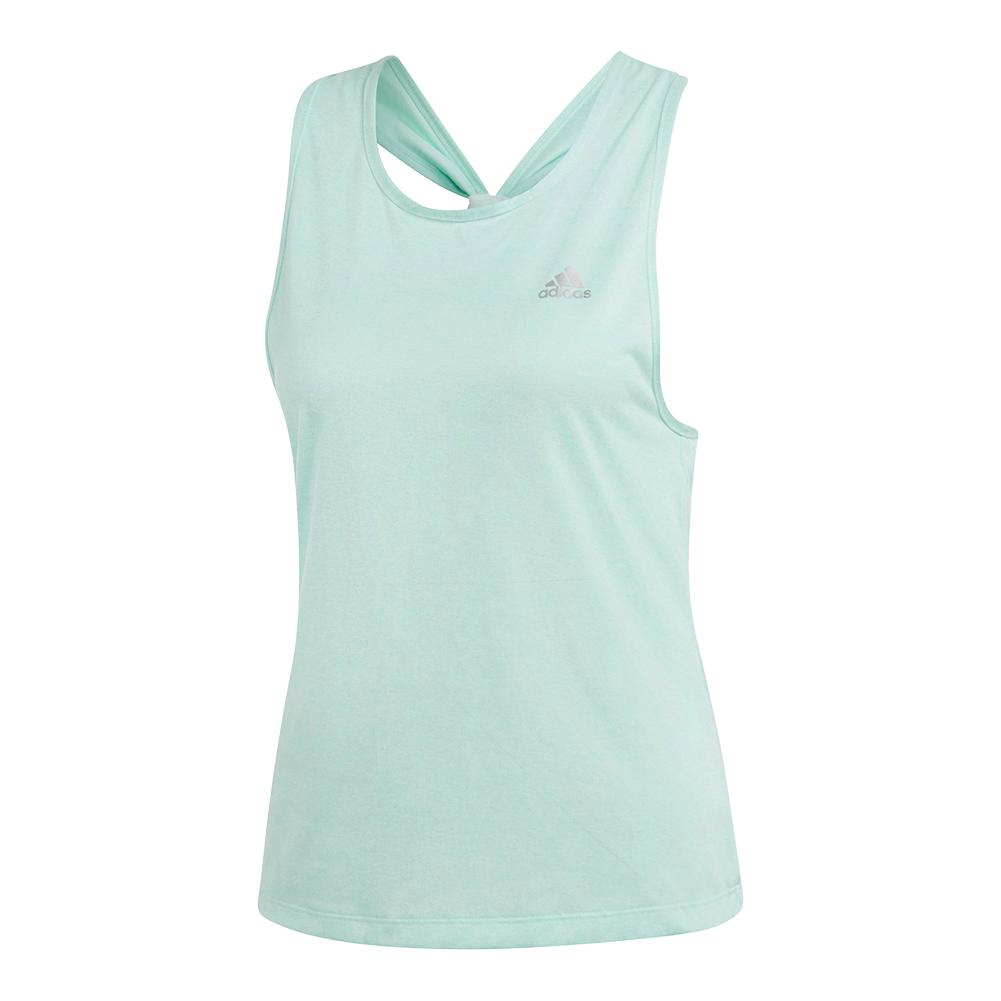 Women's Club Tieback Tennis Tank Clear Mint