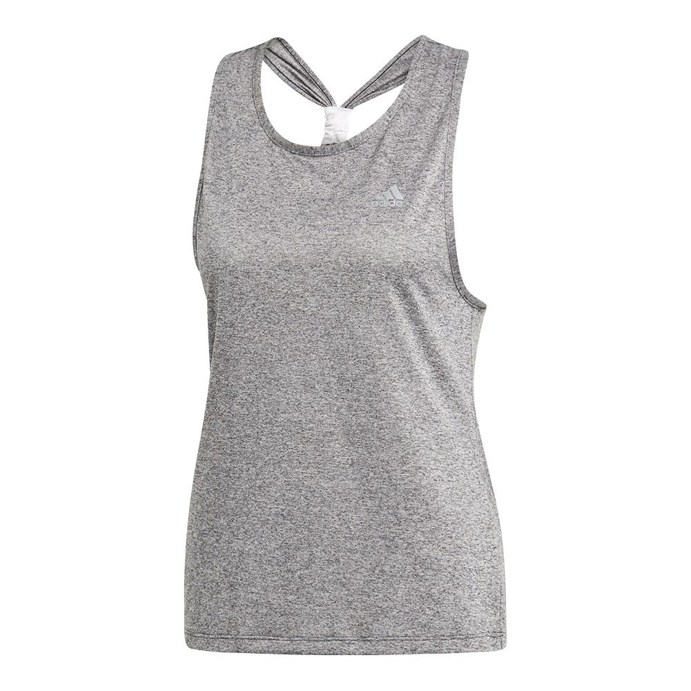 Women's Club Tieback Tennis Tank Dark Grey Heather