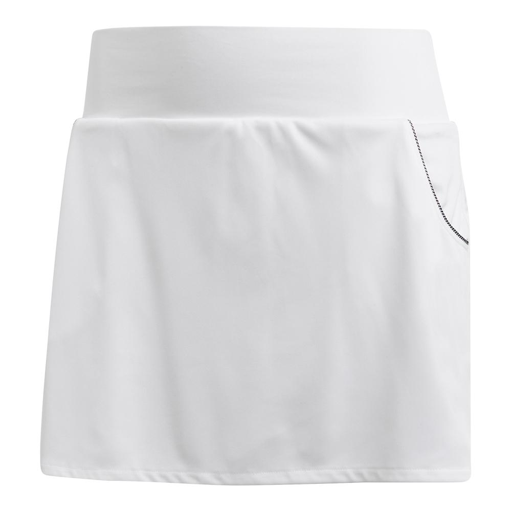 Women's Club 13 Inch Tennis Skirt White