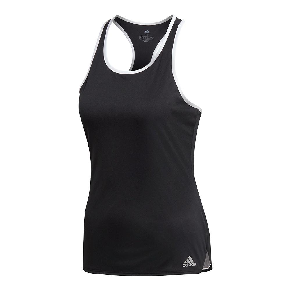 Women's Club Tennis Tank Black