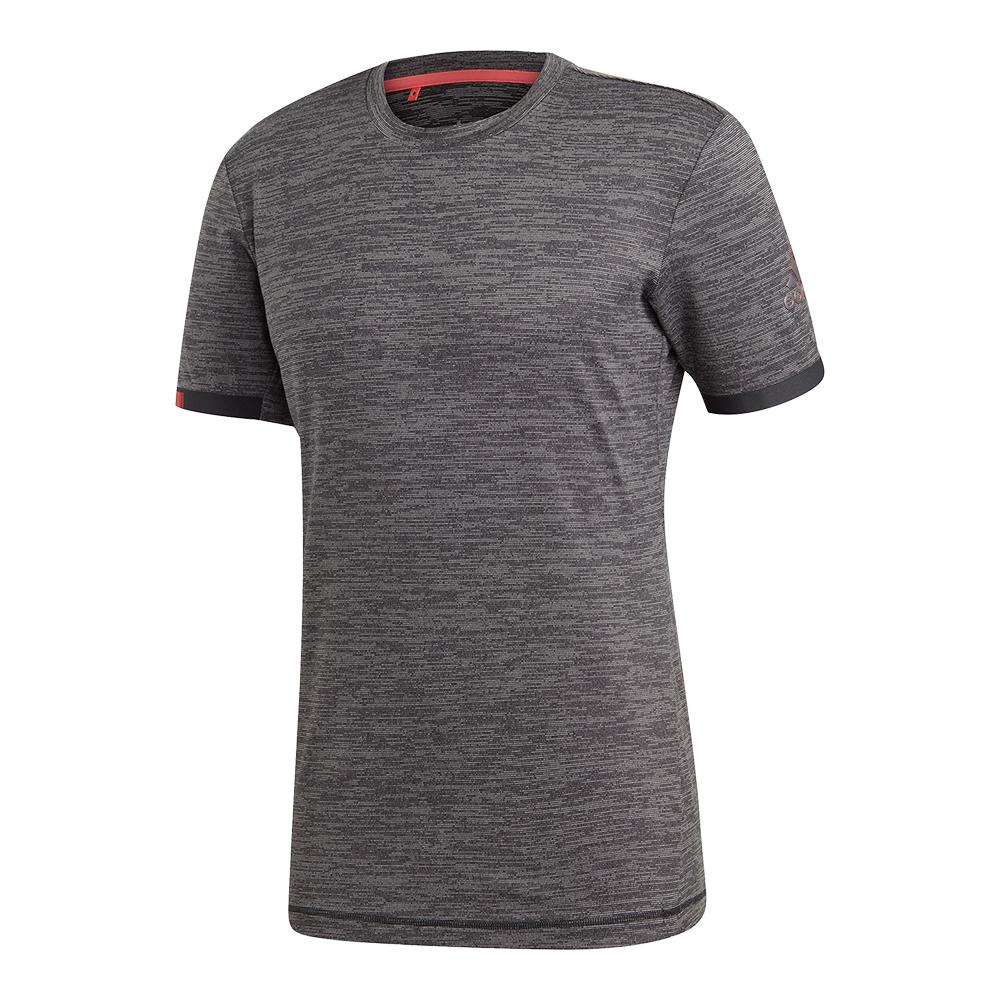 Men's Matchcode Tennis Top Black Heather