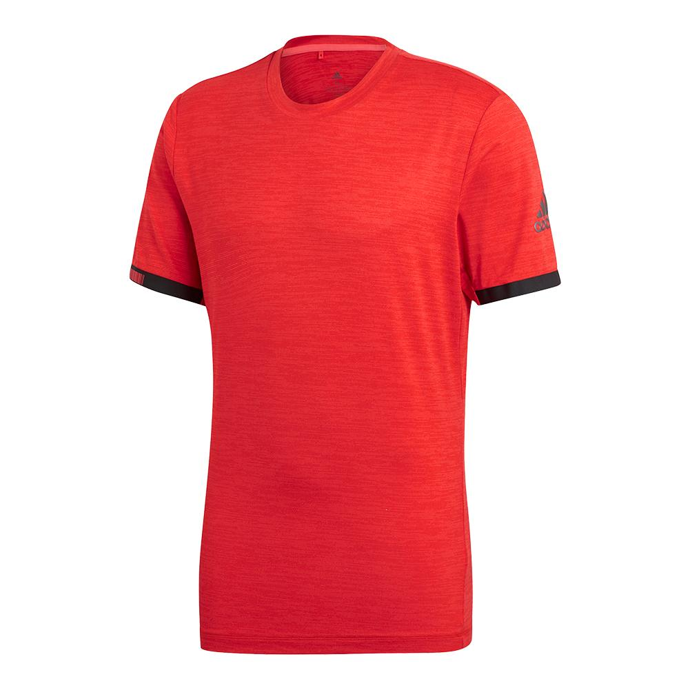 Men's Matchcode Tennis Top Red Heather