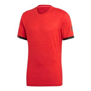 Men`s MatchCode Tennis Top Red Heather