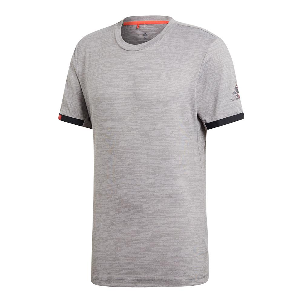 Men's Matchcode Tennis Top Grey Heather