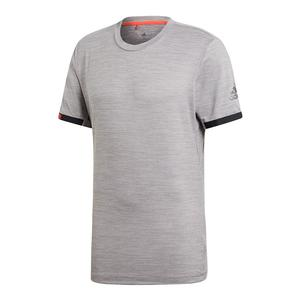 Men`s MatchCode Tennis Top Grey Heather