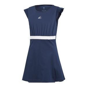 Girls` Ribbon Tennis Dress Collegiate Navy