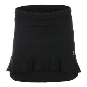 Women`s Lady 15 Inch Tennis Skort Black