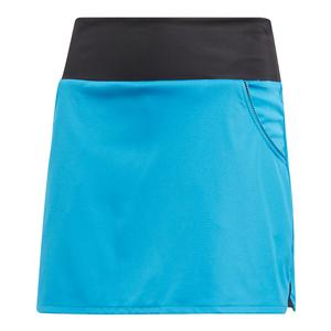 Girls` Club Tennis Skirt Shock Cyan
