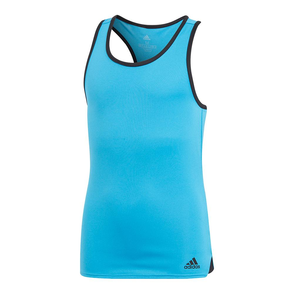 Girls ` Club Tennis Tank Shock Cyan