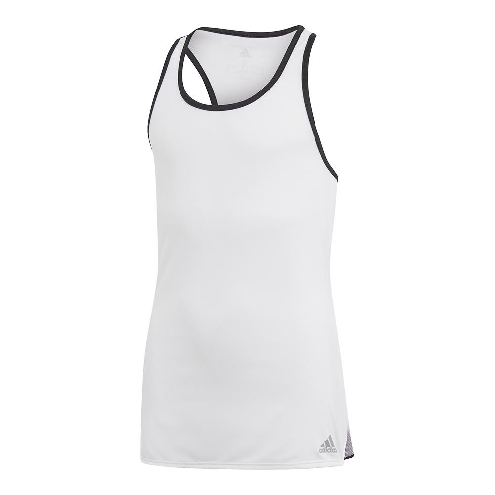 Girls ` Club Tennis Tank White