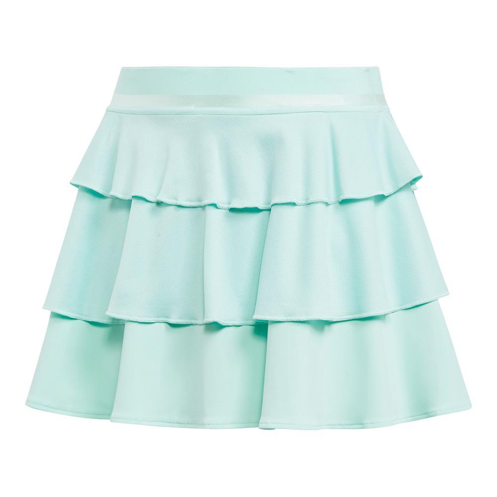 Girls ` Frill Tennis Skirt Clear Mint