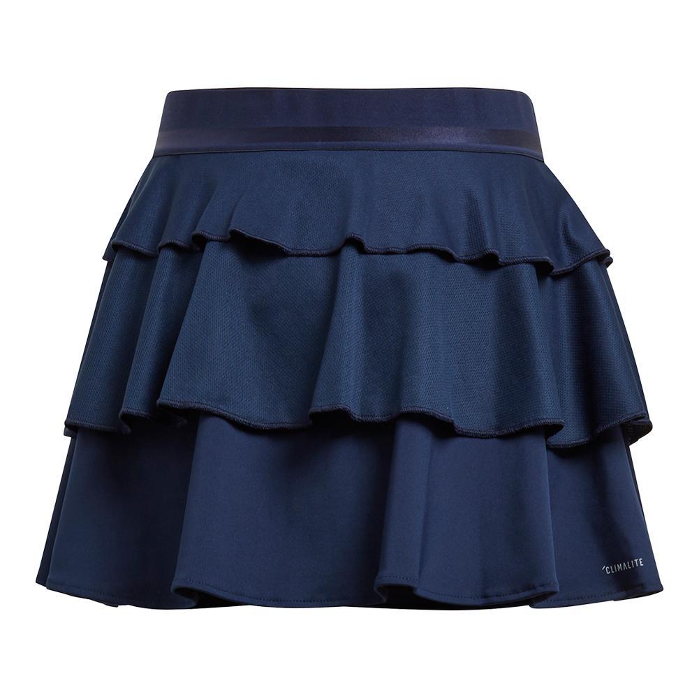 Girls ` Frill Tennis Skirt Collegiate Navy