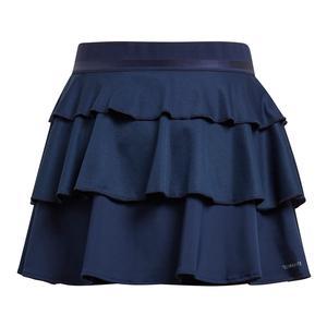 Girls` Frill Tennis Skirt Collegiate Navy