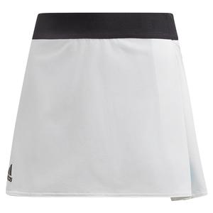 Girls` Escouade Tennis Skirt White and Black